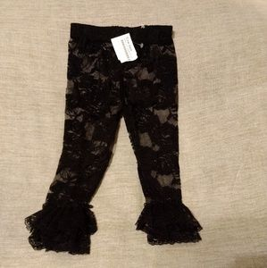 Other - Black Lace Leggings